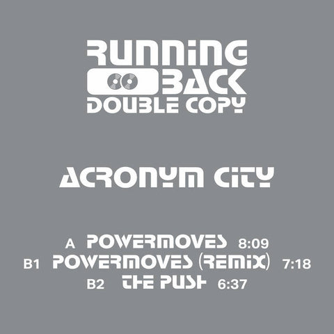 Acronym City ‎– Powermoves EP - Vinylhouse