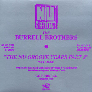 The Burrell Brothers ‎– The Nu Groove Years Part 2 1988-1992 DoLP - Vinylhouse