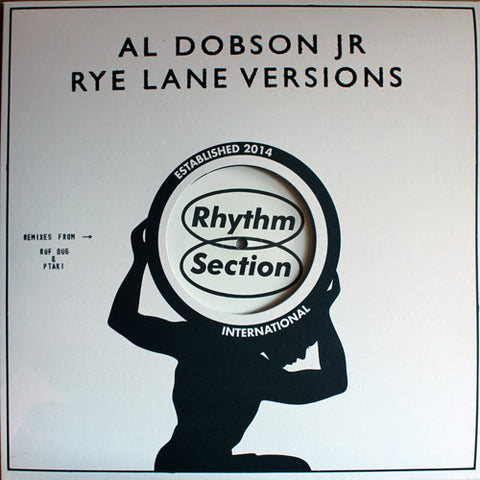 "Al Dobson Jr. ‎– Rye Lane Versions 12"" - Vinylhouse"