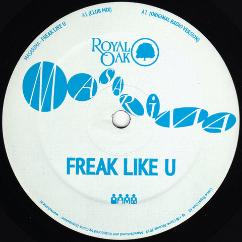 Masarima ‎– Freak Like U 12""