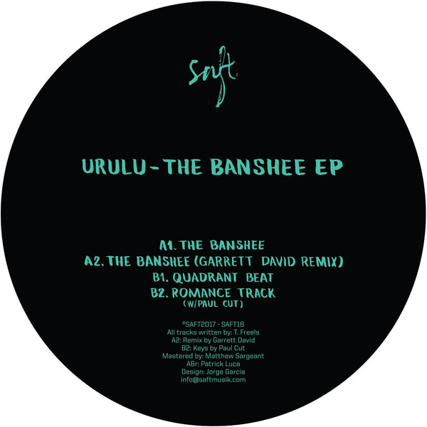 "Urulu - The Banshee EP 12"" - Vinylhouse"