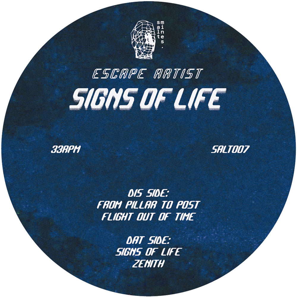 "Escape Artist – Signs of Life EP 12"" - Vinylhouse"