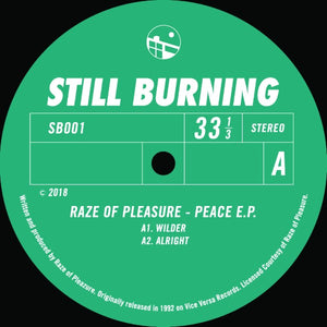 Raze Of Pleasure ‎– Peace EP