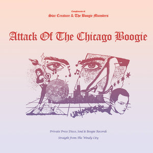 V/A ‎– Attack Of The Chicago Boogie LP