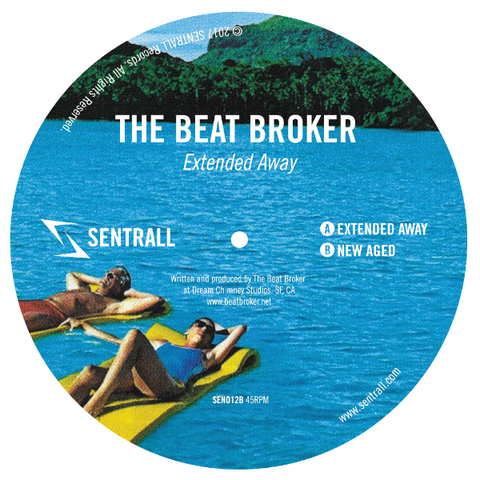 "The Beat Broker ‎– Extended Away 12"" - Vinylhouse"