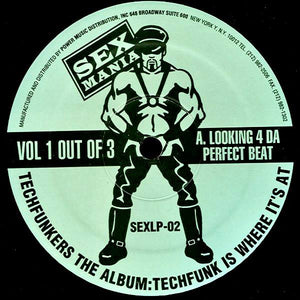 Techfunkers ‎– Techfunkers The Album: Techfunk Is Where It's At (Vol 1 Out Of 3) 12""