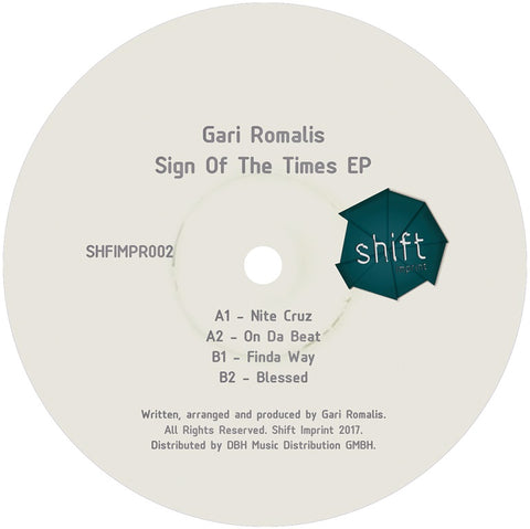 "Gari Romalis - Sign Of The Time 12"" - Vinylhouse"