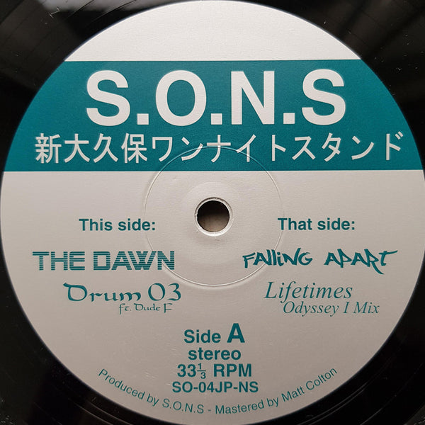 S.O.N.S ‎– Shin-Okubo One Night Stand Do 12""