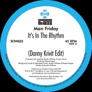 Man Friday ‎– It's In The Rhythm 12""