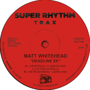 Matt Whitehead ‎– Bombing EP