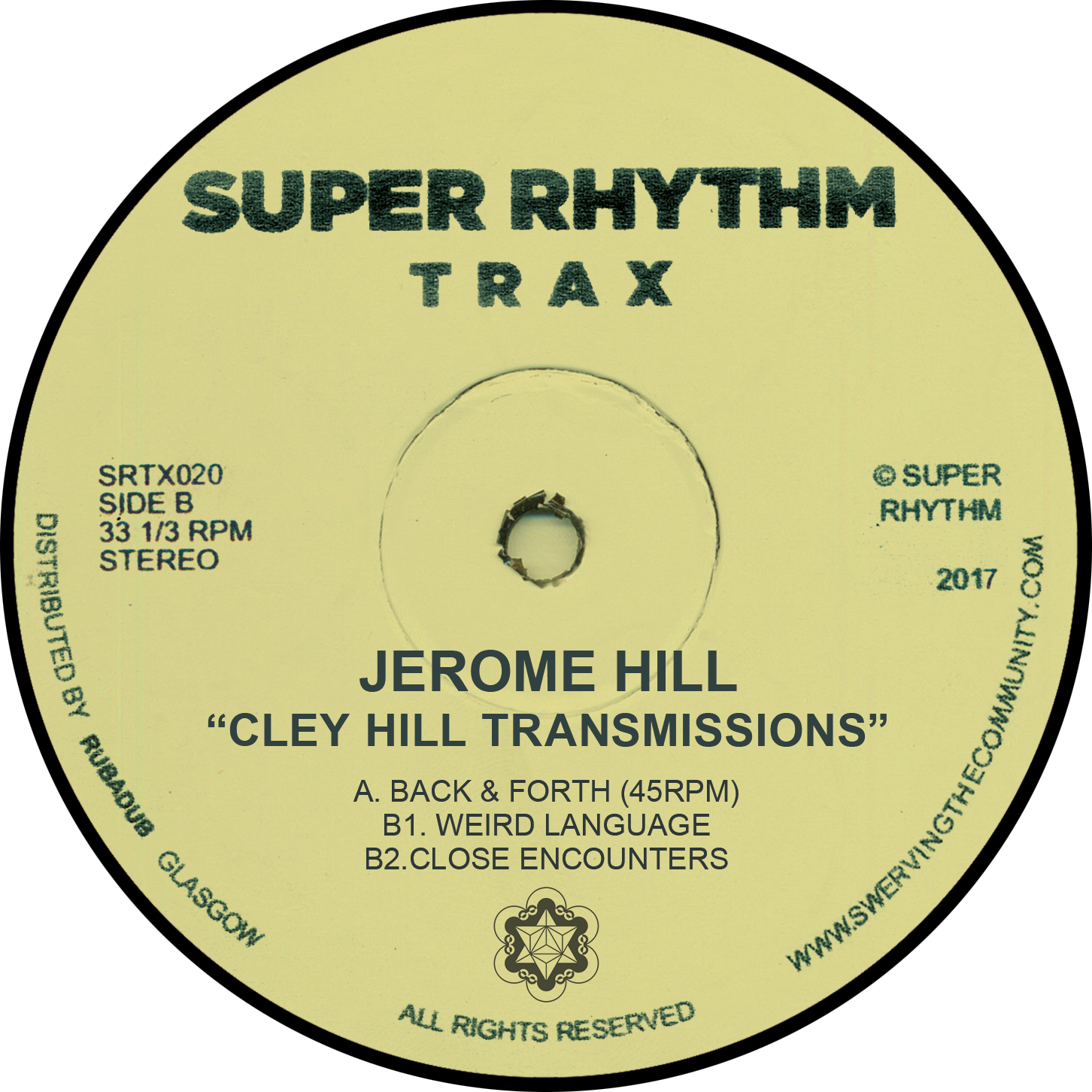 "Jerome Hill ‎– Cley Hill Transmissions 12"" - Vinylhouse"