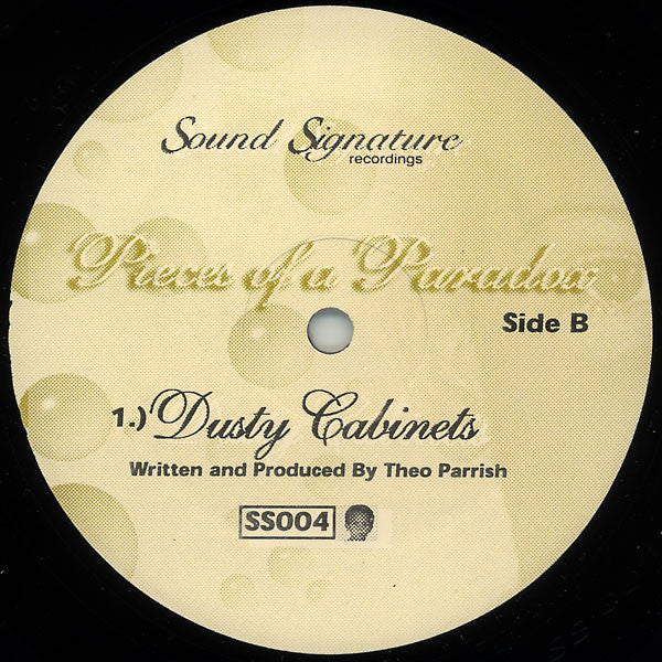 "Theo Parrish ‎– Pieces Of A Paradox 12"" - Vinylhouse"