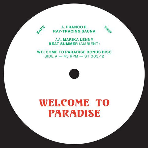 V/A - Welcome To Paradise ADE 12""