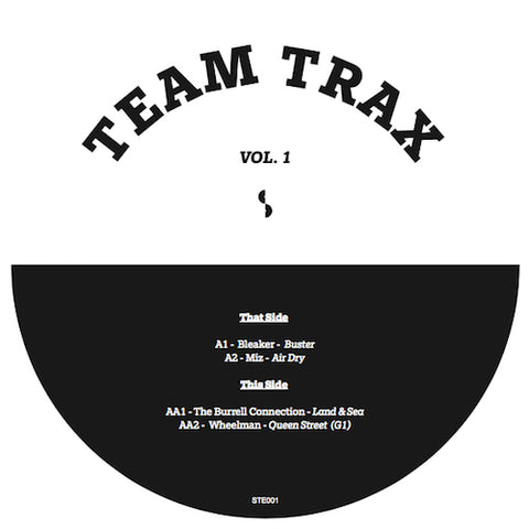 Various ‎– Team Trax Vol. 1 12""