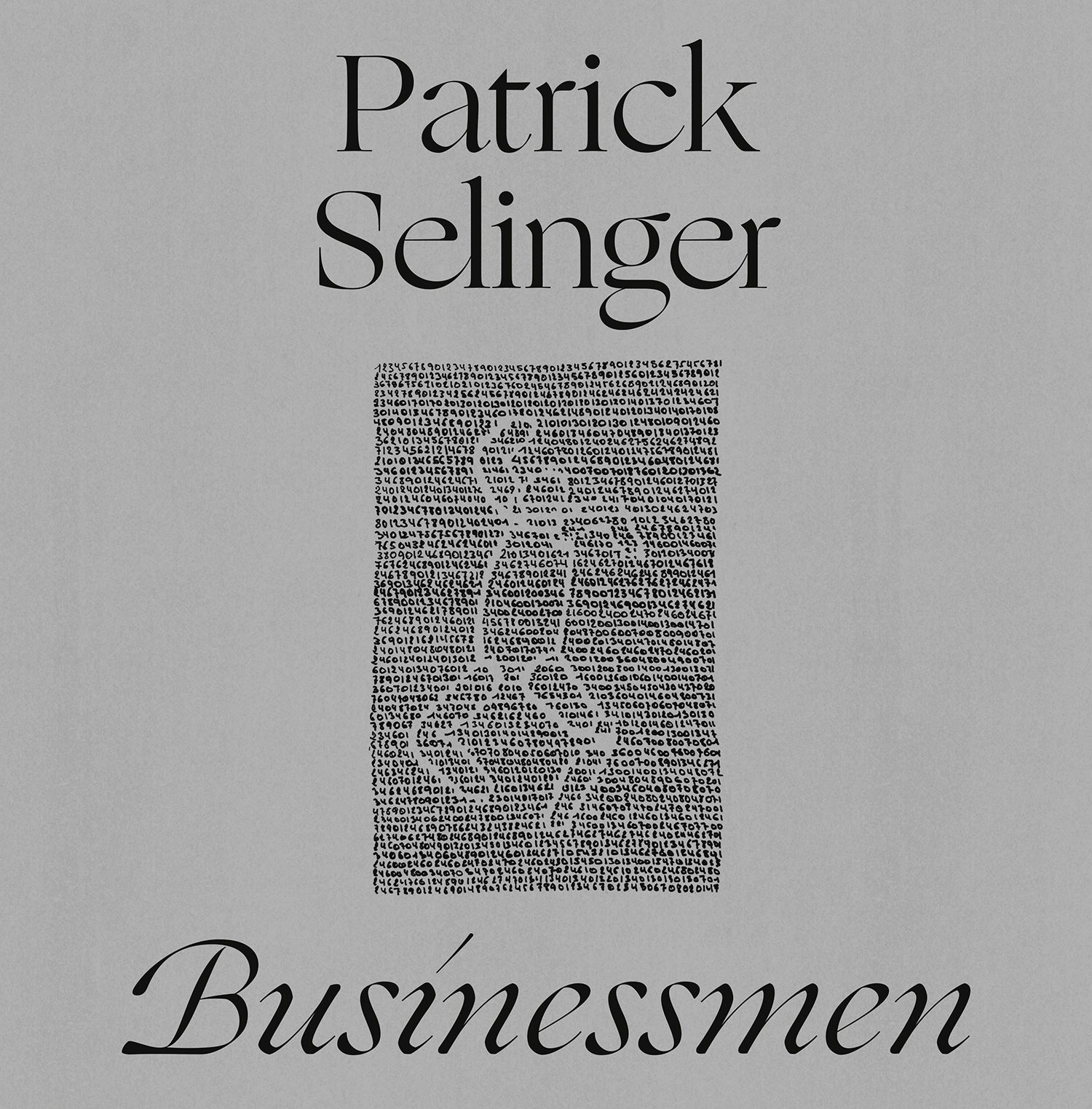 Patrick Selinger ‎– Businessmen 12""