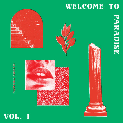 Various - Welcome To Paradise (Italian Dream House 89-93) - VOL. 1 DoLP - Vinylhouse