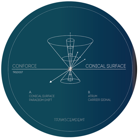 "Conforce ‎– Conical Surface 12"" - Vinylhouse"
