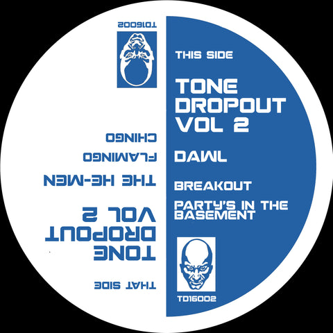 The He-Men / Dawl ‎– Tone Dropout Vol. 2 12""