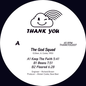The God Squad ‎– Keep The Faith 12""