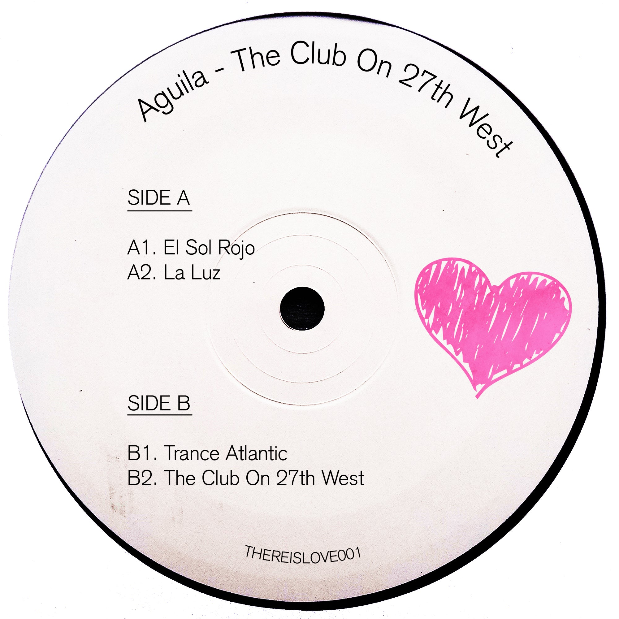 "Aguila - The Club On 27th West 12"" - Vinylhouse"