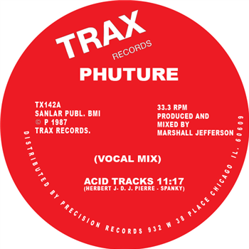 "Phuture - Acid Tracks 12"" - Vinylhouse"