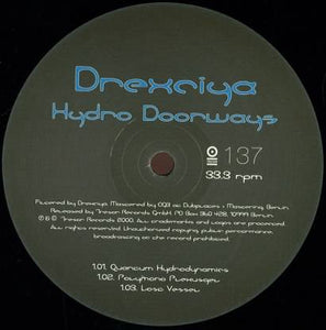 Drexciya ‎– Hydro Doorways 12""