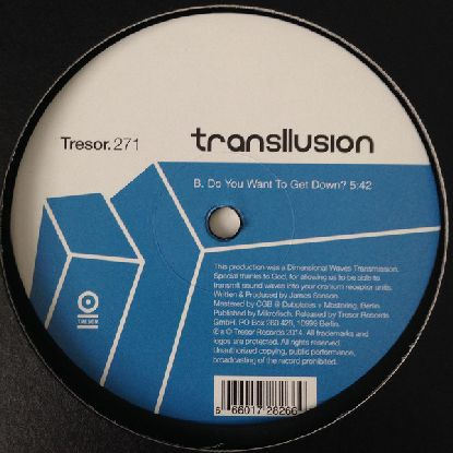Transllusion ‎– Mind Over Positive And Negative Dimensional Matter 12""