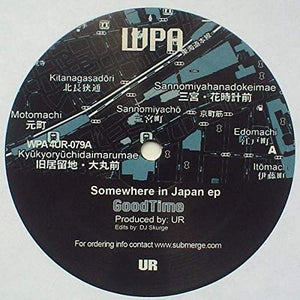 UR ‎– Somewhere In Japan EP