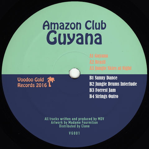 Amazon Club - Guyana Mini-LP - Vinylhouse