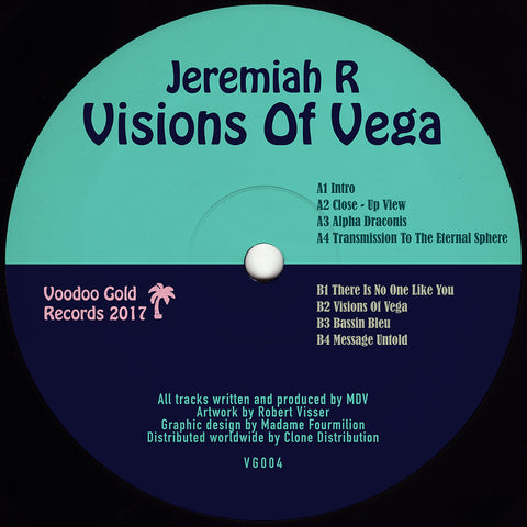 Jeremiah R. - Visions of Vega Mini-LP - Vinylhouse
