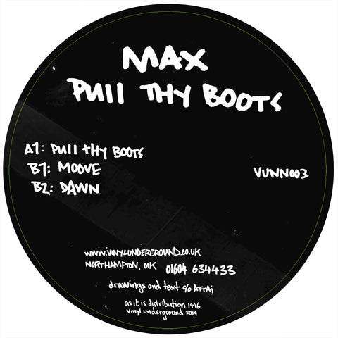 Max ‎– Pull Thy Boots 12""