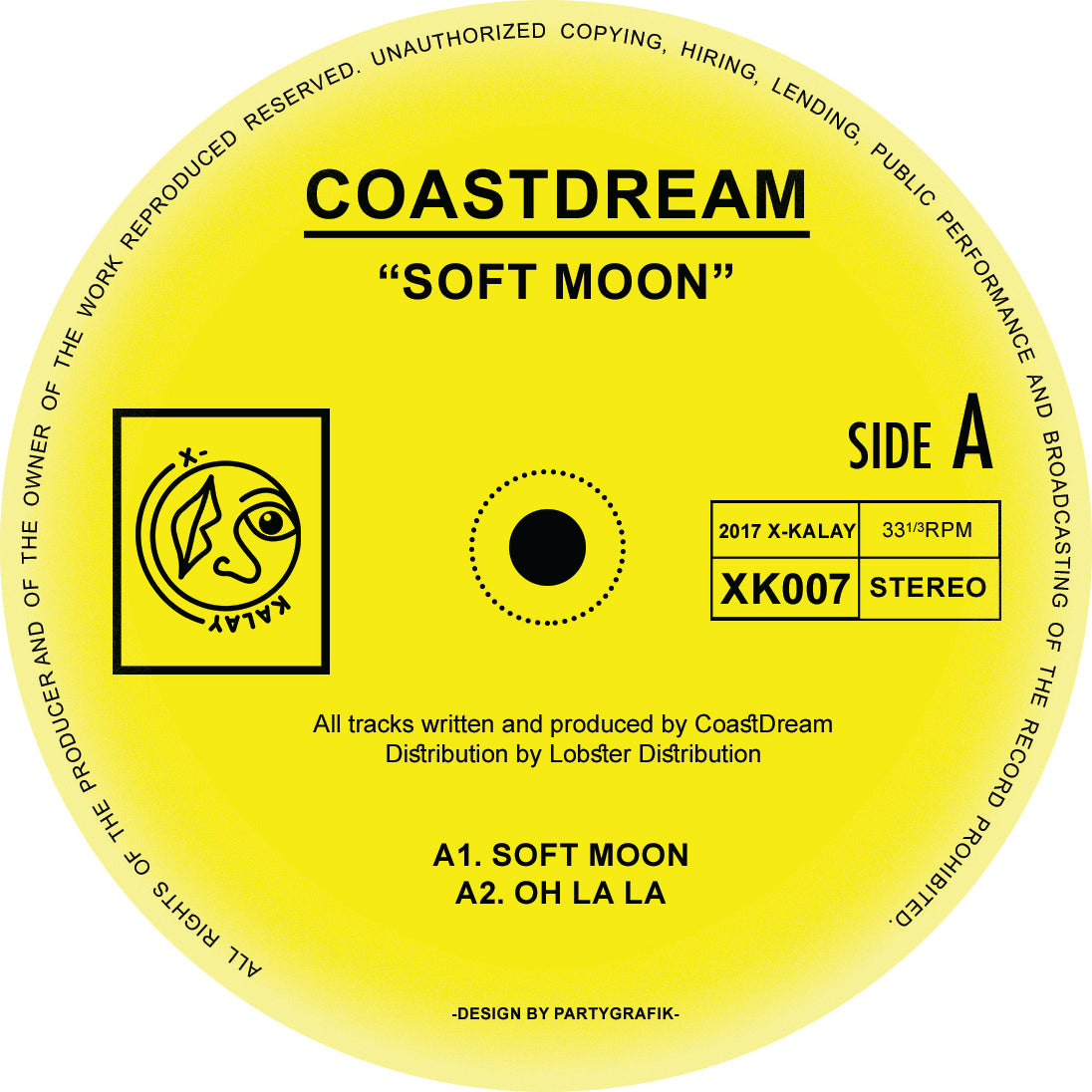 "CoastDream - Soft Moon 12"" - Vinylhouse"