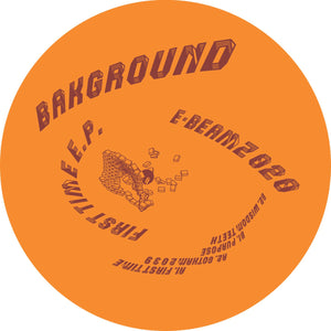 "Bakground ‎– First Time EP 12"" - Vinylhouse"