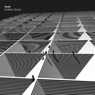 Kosh ‎– Endless Quest 12""