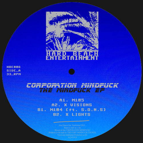 Corporation Mindfuck  - The Mindfuck EP - Vinylhouse