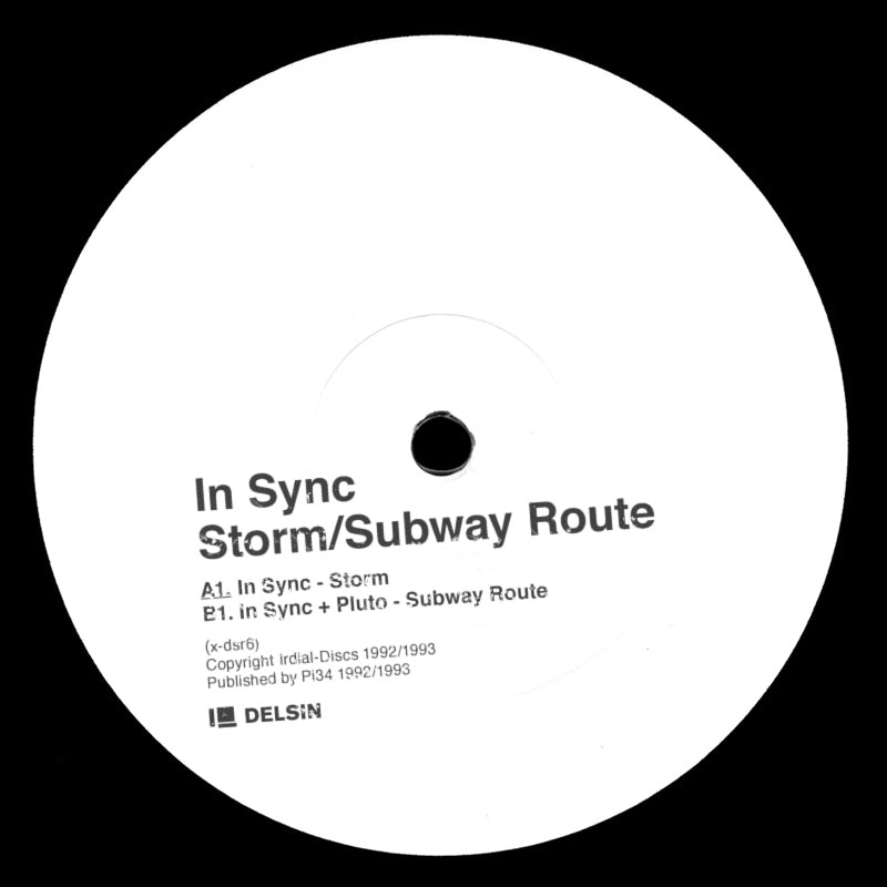 "In Sync ‎– Storm / Subway Route 12"" - Vinylhouse"