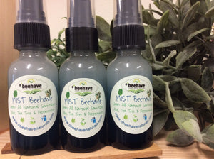 Mist 'Beehave Organic Aloe Hand Sanitizer-Serums & Mists- Obeehave