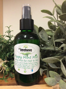 Peppy Mint Mist Toner-Serums & Mists- Obeehave