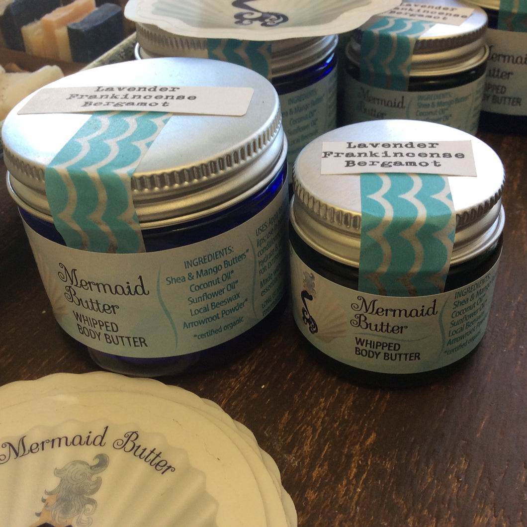 Mermaid Butter-Balms, Butters & Scrubs- Obeehave