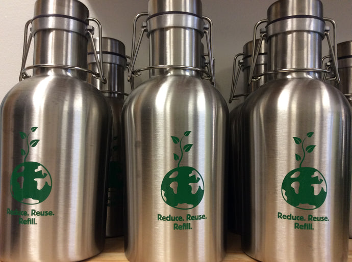 O'beehave Reduce Reuse Refill Growler  32 oz-Home- Obeehave