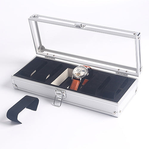 6 Grids Watch Box / Aluminium Alloy Case