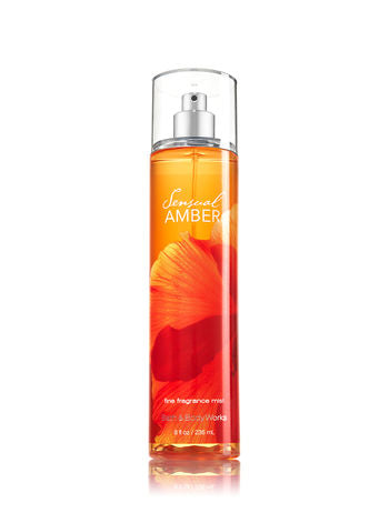 Bath & Body Works Sensual Amber Fine Fragrance Mist 8 oz        ...