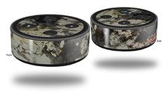 Skin Wrap Decal Set 2 Pack for Amazon Echo Dot 2 - Marble Granite 04 (2nd Generation ONLY - Echo NOT INCLUDED)