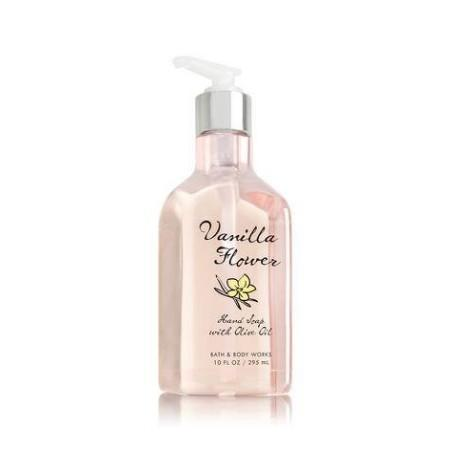 VANILLA FLOWER Hand Soap with Olive Oil