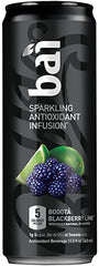 Bai Bubbles Bogotá Blackberry Lime, Sparkling Antioxidant Infused Beverage