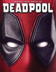 Deadpool [Includes Digital Copy] [Blu-ray/DVD] [2016]