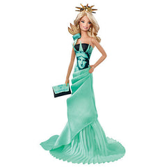 Statue of Liberty Barbie Doll (Dolls of the World Landmark Collection)