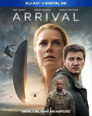 Arrival [Includes Digital Copy] [Blu-ray] [2016]