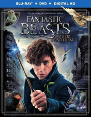 Fantastic Beasts and Where to Find Them [Includes Digital Copy] [Blu-ray/DVD] [2016]