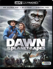 Dawn of the Planet of the Apes [4K Ultra HD Blu-ray] [2 Discs] [2014]